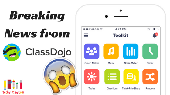 Breaking News about ClassDojo Toolkit