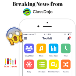 Breaking News from ClassDojo Toolkit- horizontal