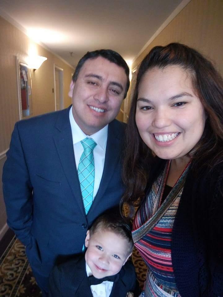 Sara Mora's family