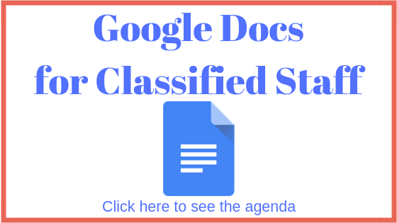 Google Docs for Classified