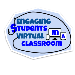 Engaging Students in a virtual classroom sticker