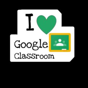 I heart Google Classroom Badge